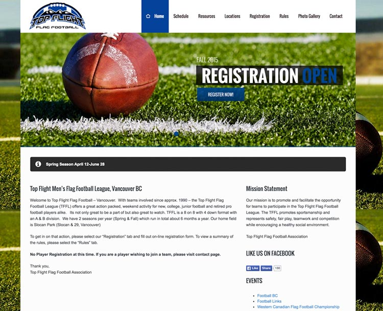 Top Flight Flag Football Vancouver